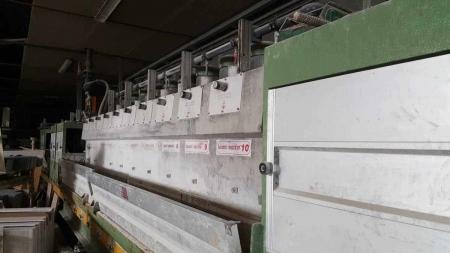 Polishing machine for granite tiles Barsanti Calib-Luc700 2+10