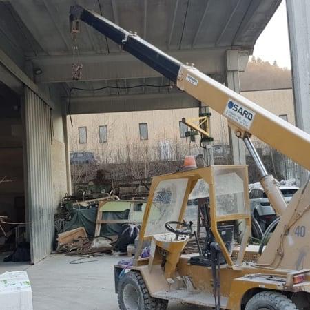 Autogru semovente Sard D40 - 4 Tons