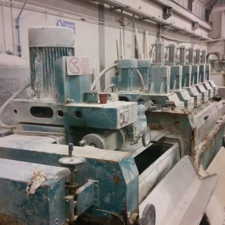Polishing machine for marble tiles Gregori 1+6