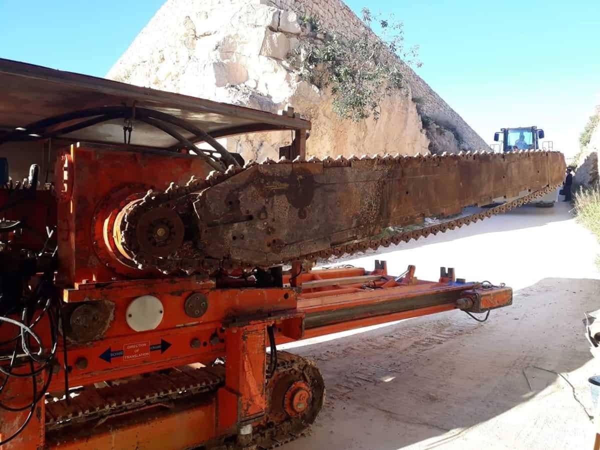 Macchina Segatrice da Bancata cingolata Fantini 70 Crawler-machine-with-cutting-system-fantini-70-ra-bu-2