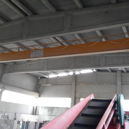 Puente grúa Zikiridis 5 Tons – 18 m
