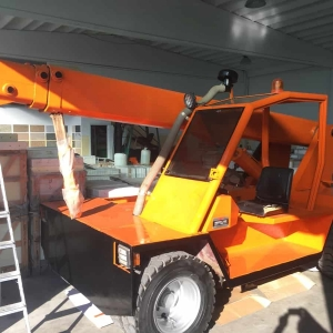 Mobile Crane Omar OR 7000 S88 – 7 Tons