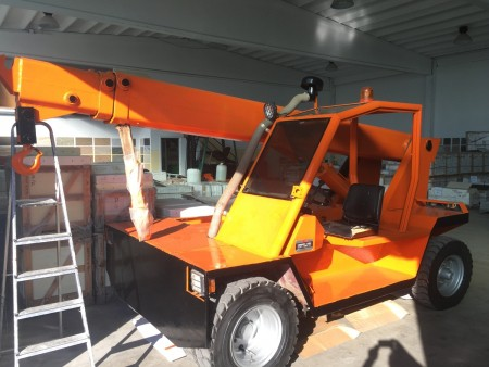Mobile Crane Omar OR 7000 S88 - 7 Tons