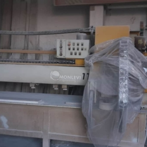 Automatic Single Head Polisher Monlevi 1T-Touch for flat and round edges