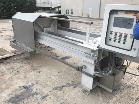 Filter press Zanasi Delta Acque FPSA080/10M - 10/800