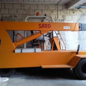Mobile crane Sard D45 – 4.5 Tons