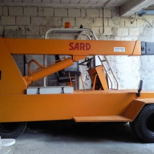 Autogru semovente Sard D45 – 4.5 Tons
