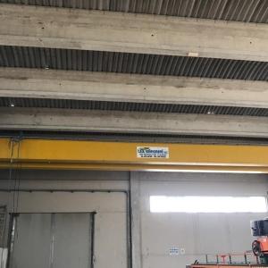 Overhead crane T.S.A. Sollevamenti 10 Tons – 17 m