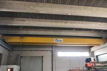 Carroponte T.S.A. Sollevamenti 10 Tons - 17 m