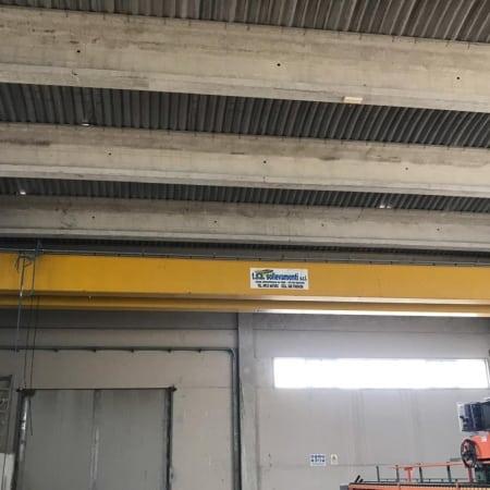 Overhead crane T.S.A. Sollevamenti 10 Tons - 18.8 m