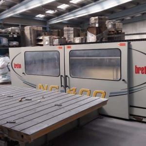 "CNC Breton Contourbreton NC400 ""Dual Table"" – 3 Axes"