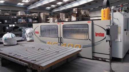 "CNC Breton Contourbreton NC400 ""Mesa Doble"" - 3 Ejes"