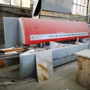 Edge polisher Flying Bull Sassomeccanica flat and round edges