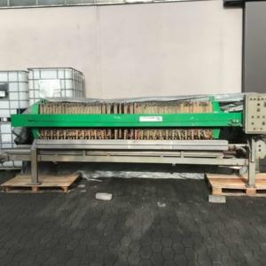 Filter press Filtri Diemme AUTOMAT 610 – 50/600