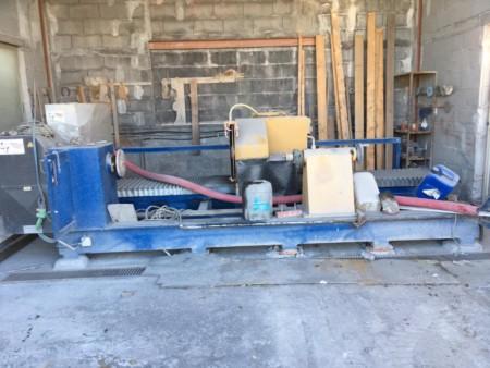Hydraulic lathe 2T TPI 25001000