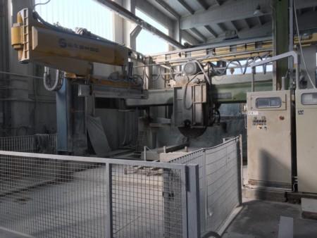 Block cutter Terzago T14SG30 - Blade 1400 mm