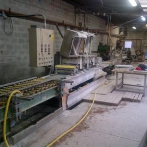 Línea para producción de zócalos – Pragma, Terzago y Breton