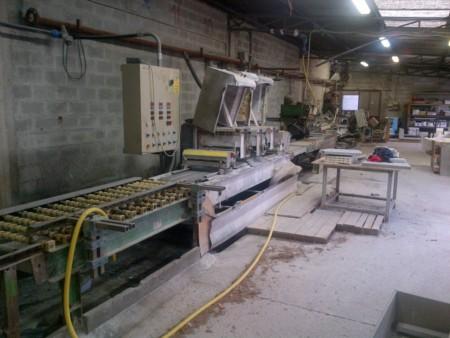Línea para producción de zócalos - Pragma, Terzago y Breton