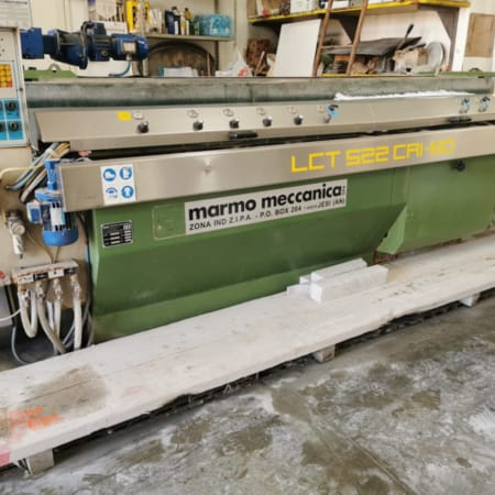 Edge Polisher Marmo Meccanica LCT 522 CAI-MO flat and round edges