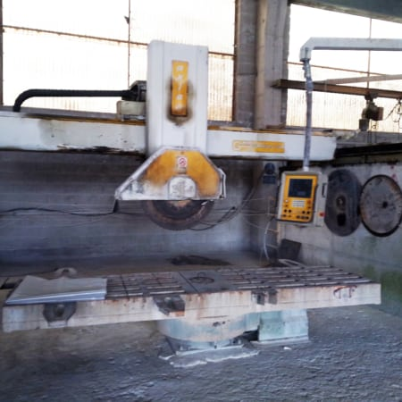 Bridge saw CNC GMM Axia 38 - Blade 1050 mm