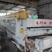 Polishing line for marble tiles Barsanti LCA200