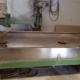 Radial arm polisher column CMF FBR0031