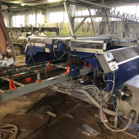 Squaring machine for tiles and stripes Ancora 2SQ14-25/120