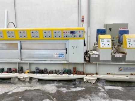 Polishing machine for marble tiles Dal Prete Quasar 682