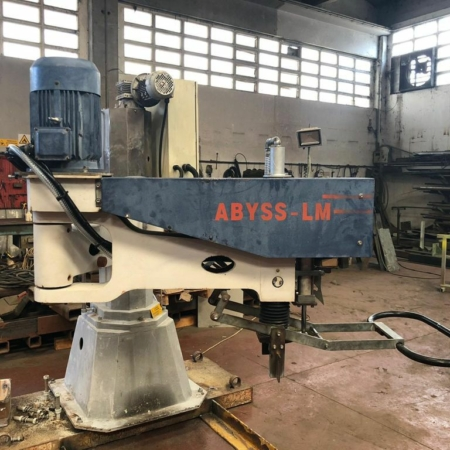 Radial arm polisher column Alfa Abyss-LM